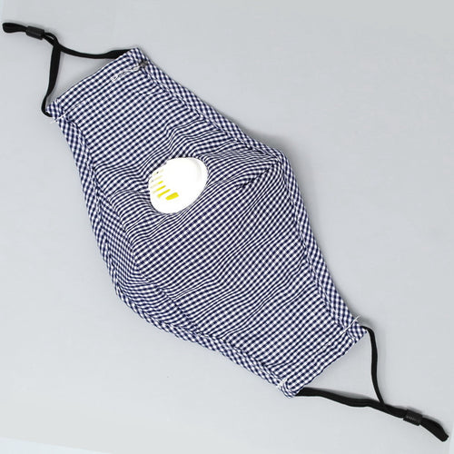 Washable and Reusable Cotton Facial Mask (Navy)