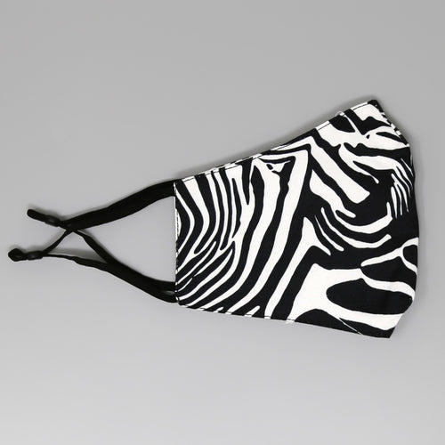 Animal Print Soft Padded Face Mask