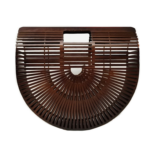 Natural Bamboo Ark Handbag (Large)