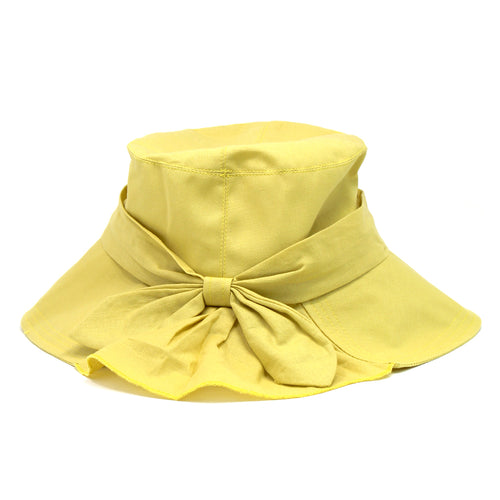 Bucket Hat With Decorative Bow