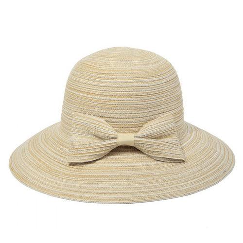 Sun Hat With With Decorative Bow