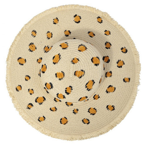 PRE-ORDER Leopard Speckle Floppy Hat