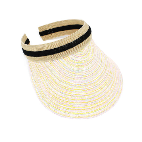 Blended Color Visor Hat