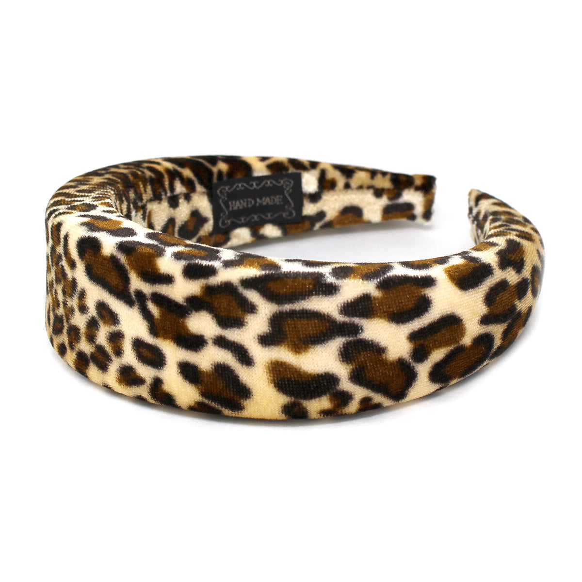 Animal Print Padded Velvet Headband