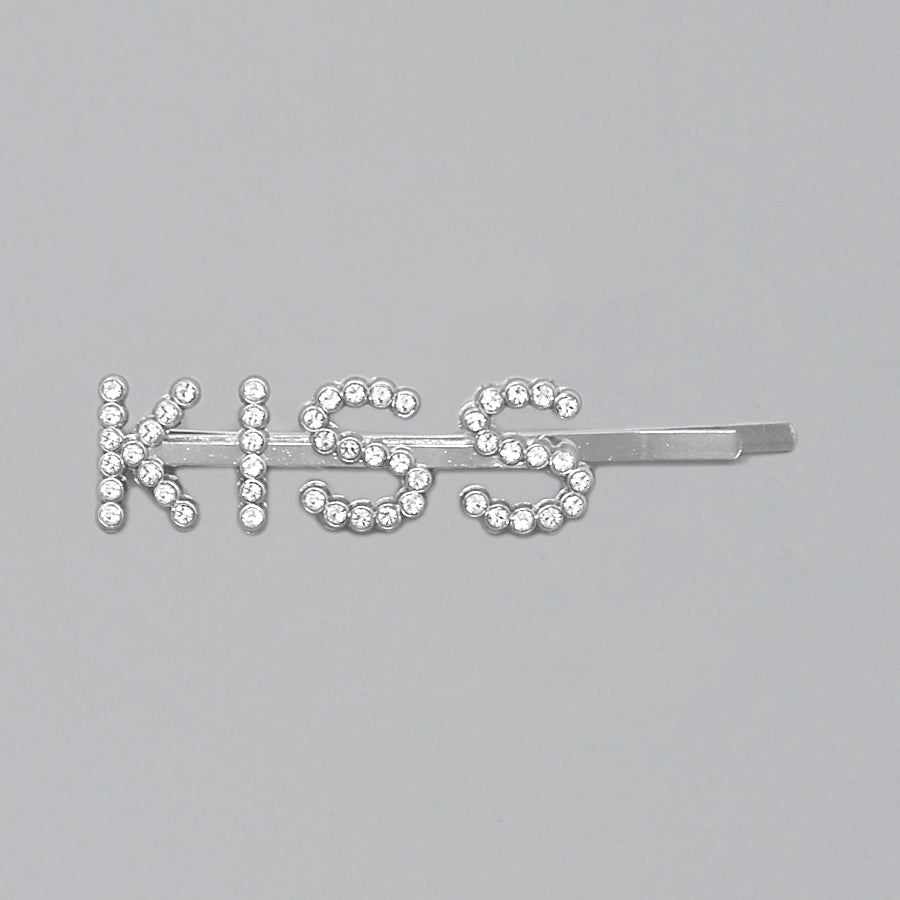 KISS Glass Stone/ Pearl Bead Pave Bobby Pin