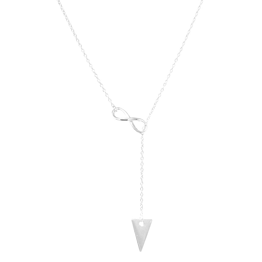 Sterling Silver Arrowhead Pendant Y-Necklace