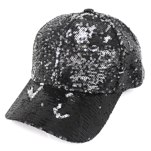 Sequin Baseball Hat