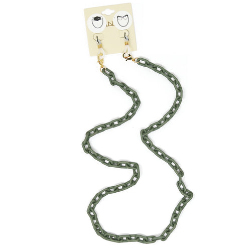 Acetate Linked Mask Chain  / Glasses Chain