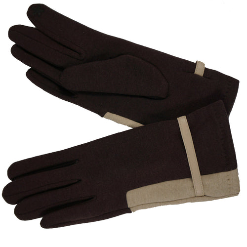 Magic Touch Two Tone Color Gloves