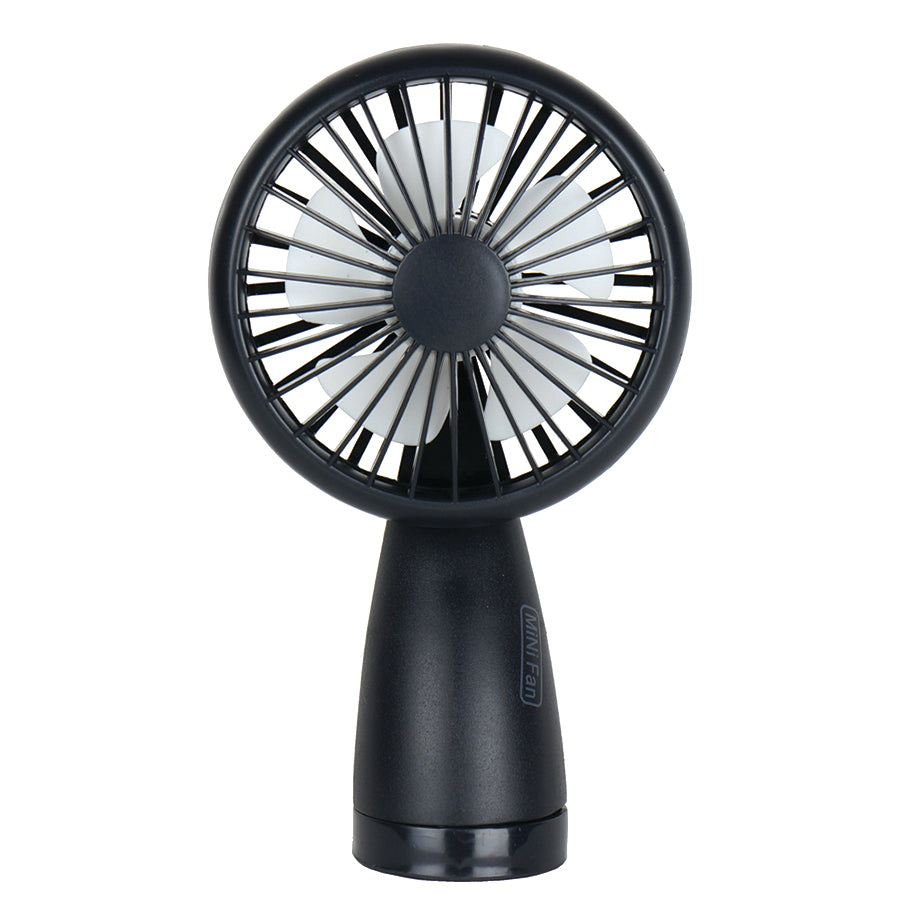 Mini Fan With Flash Light
