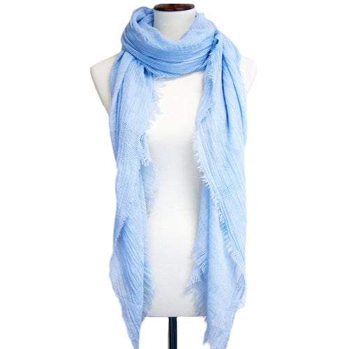Solid Color Summer Scarf