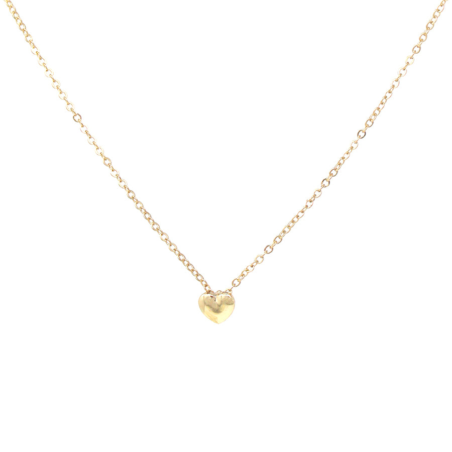 Mini Heart Pendant Short Necklace