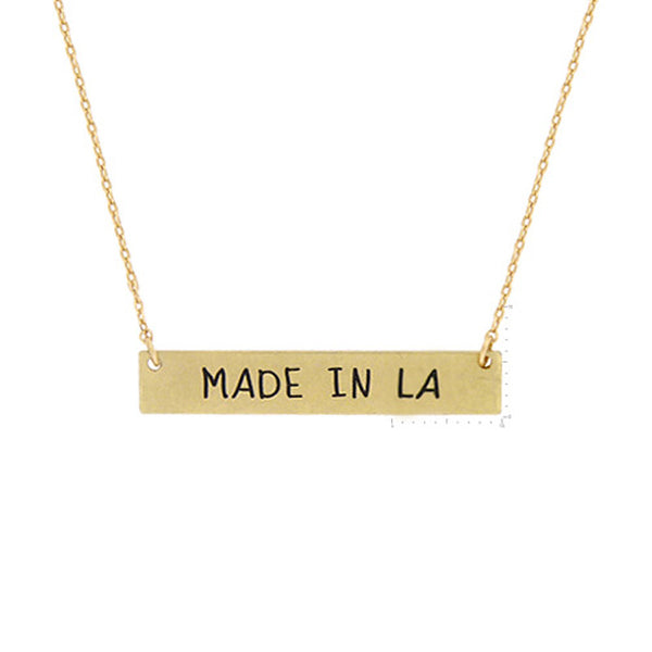 Made in LA Pendant Necklace