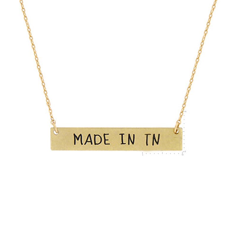 Made in TN Pendant Necklace
