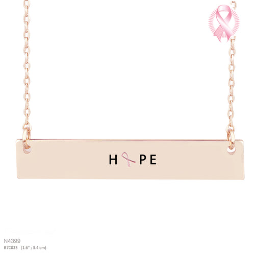 HOPE-Message Pendant Necklace