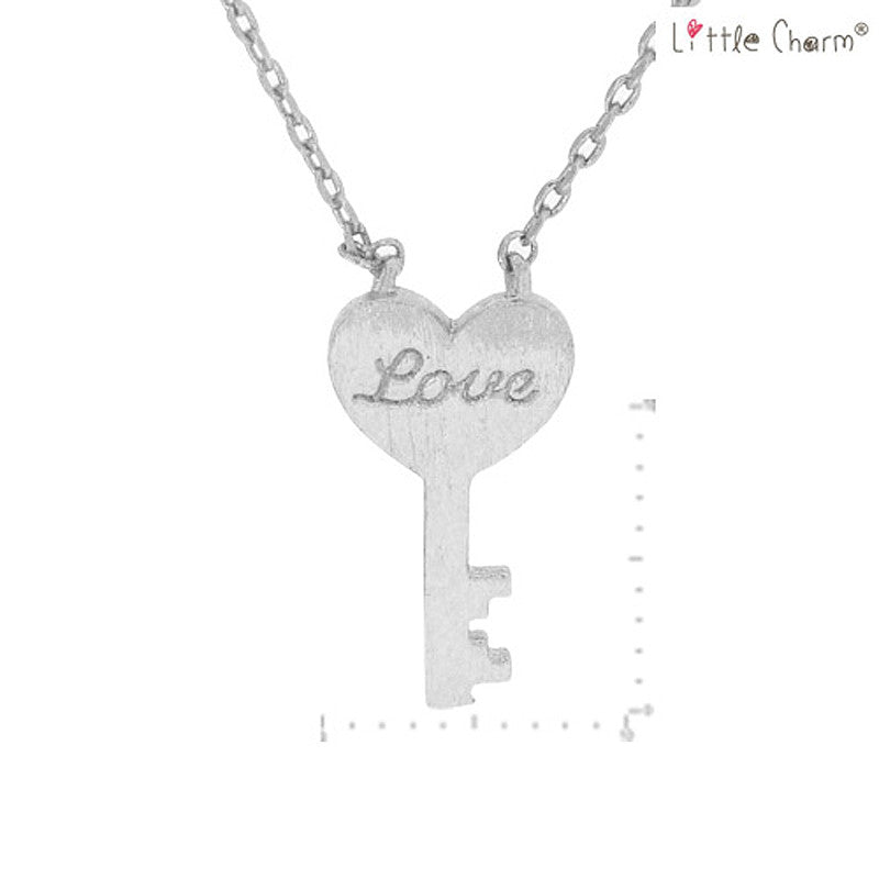 Love Key Pendant Necklace
