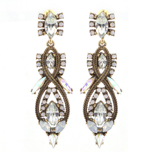 Holiday Edition - Glass Statement Earrings