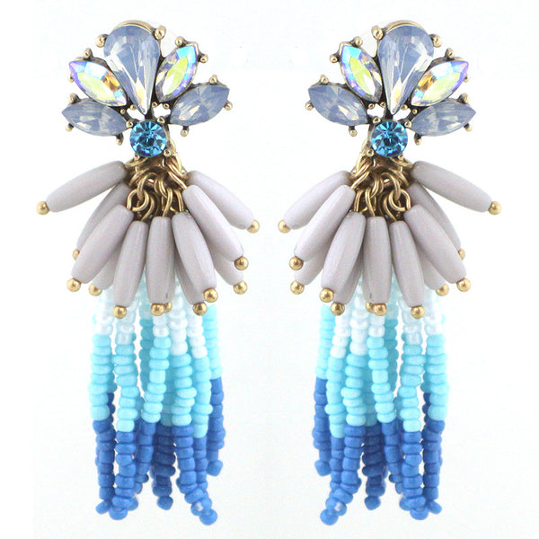 SS Vivid Edition - Color Statement Tassel Earrings