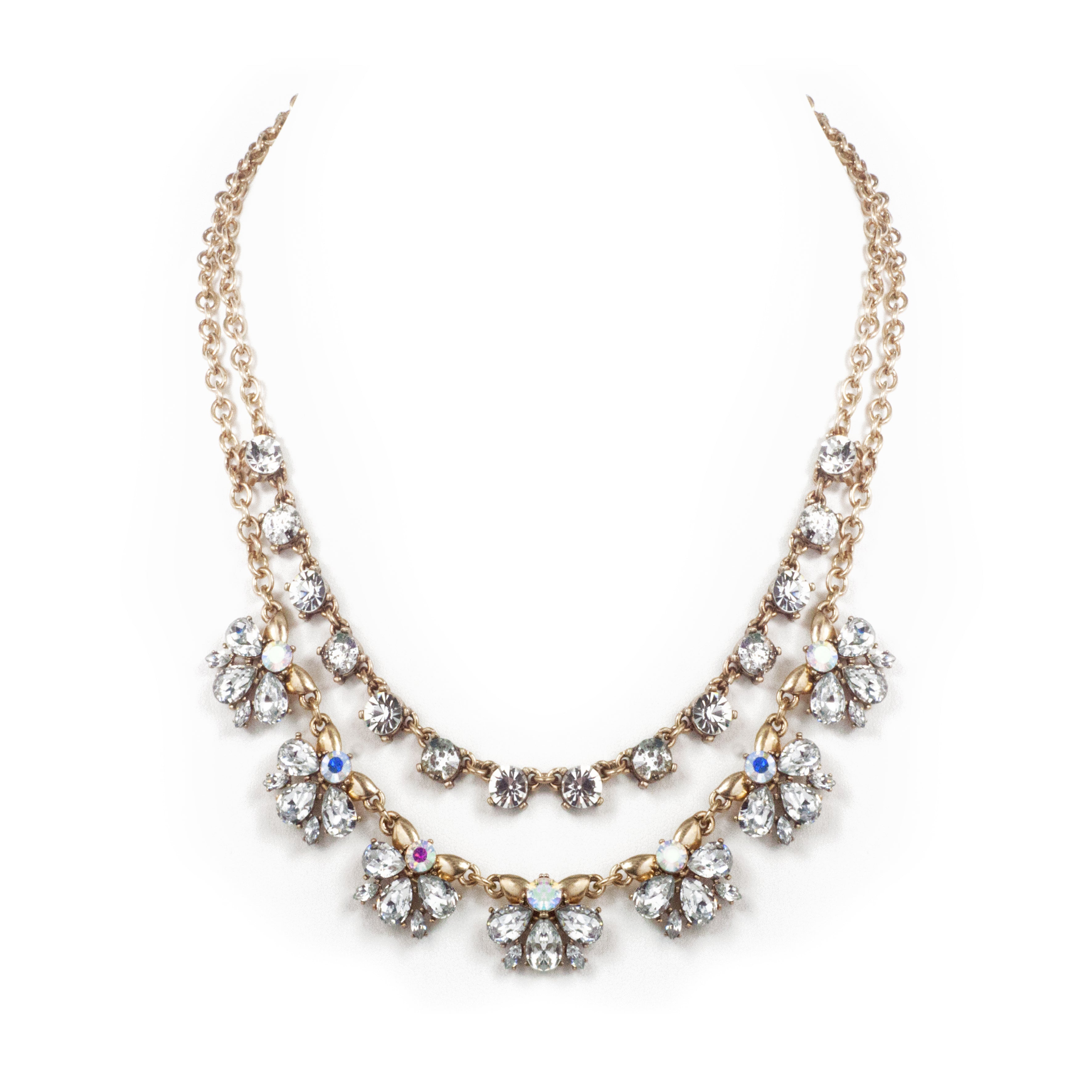 Spring Vivid Edition Double Layered Statement Necklace
