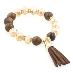 Multi Stones and Tassel
