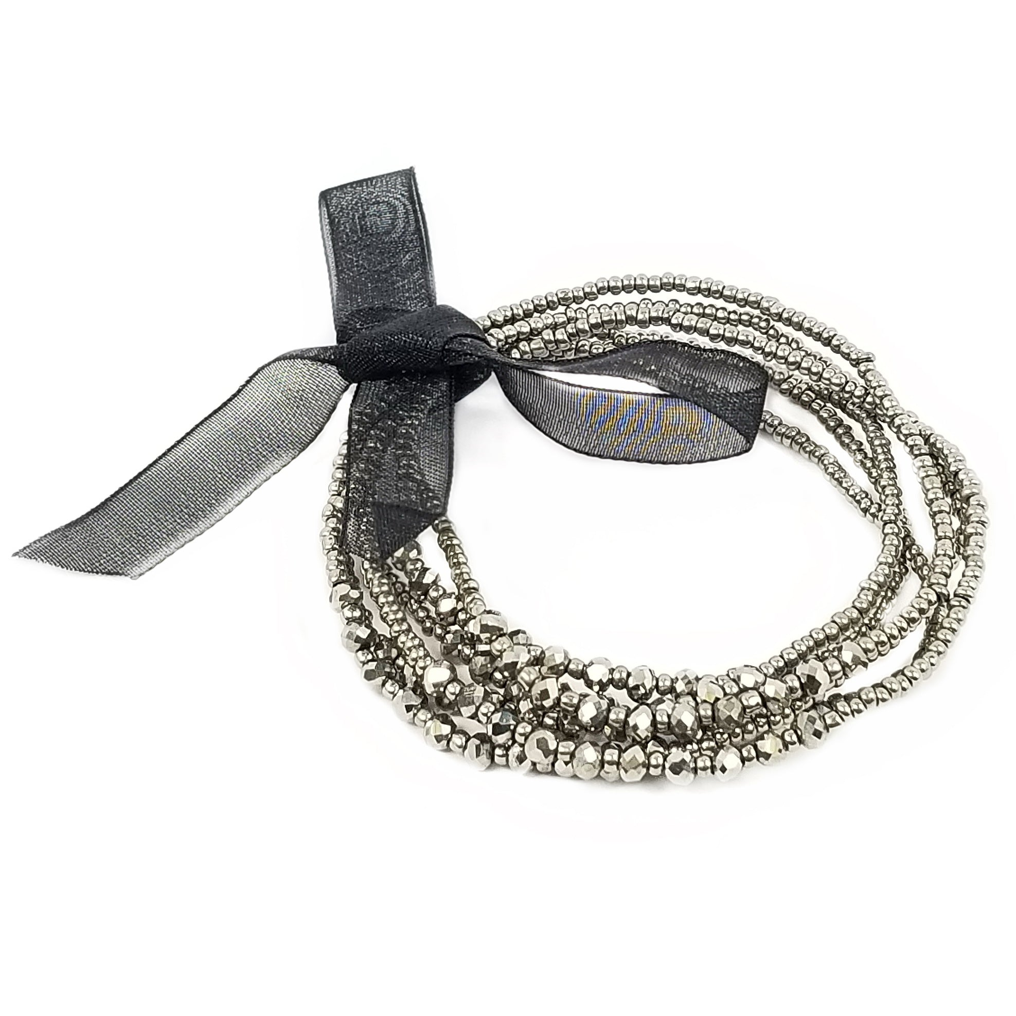 bracelet bow silver necklace ribbon ranola products