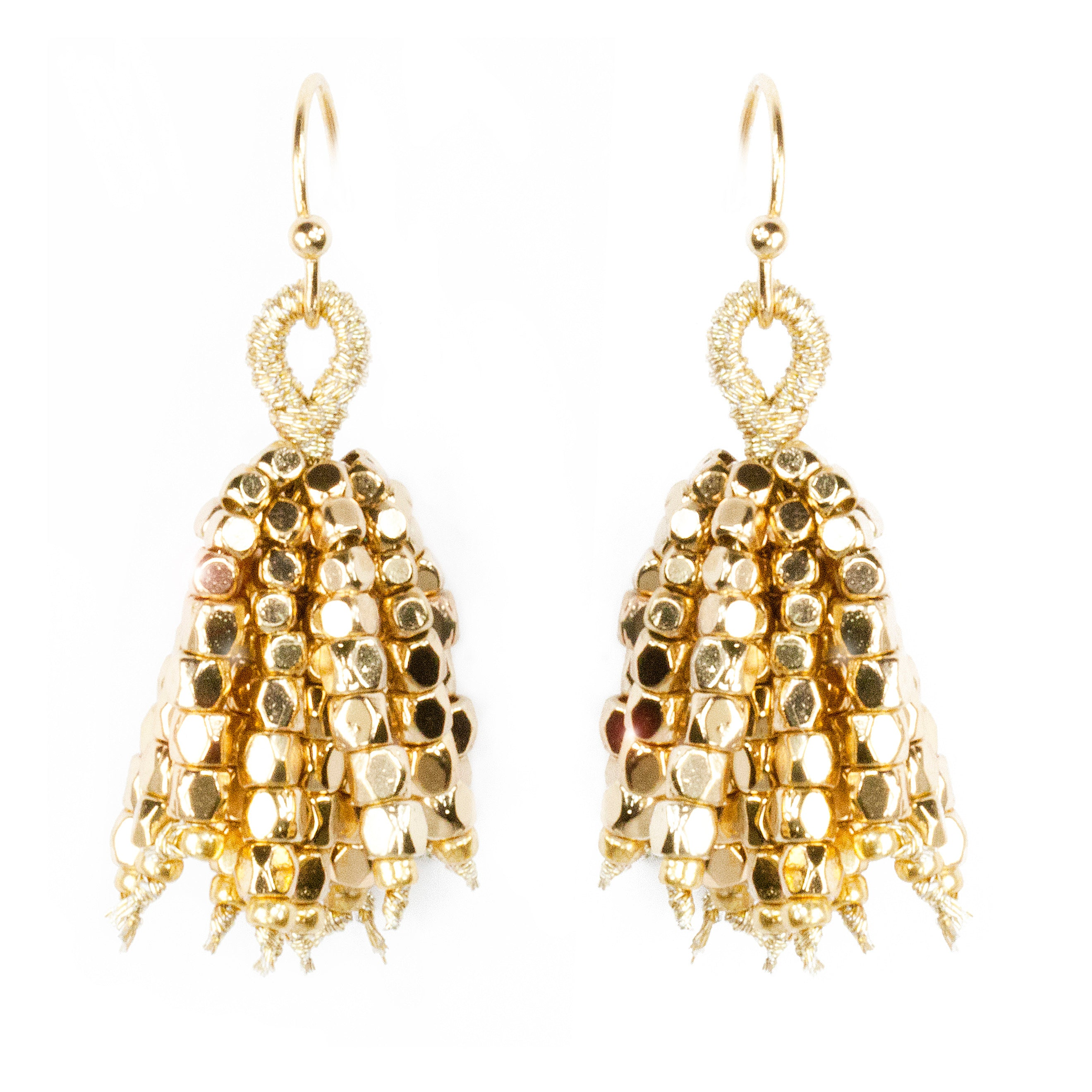 ellery large gold earrings loading by emin curved operandi moda fringe