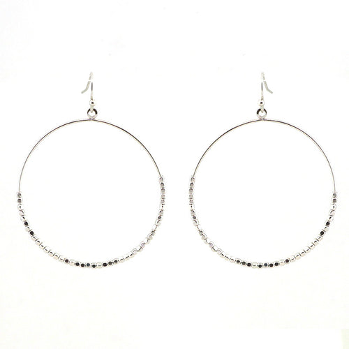 Round Beads Simple Earrings
