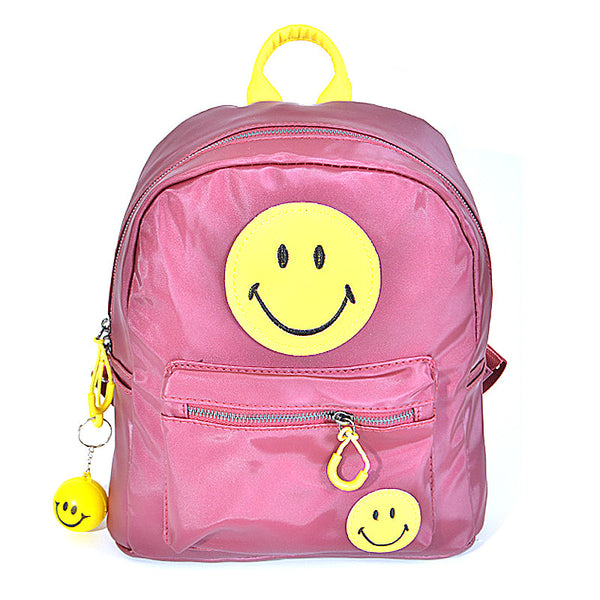 Trendy Happy Face Inspired Backpack