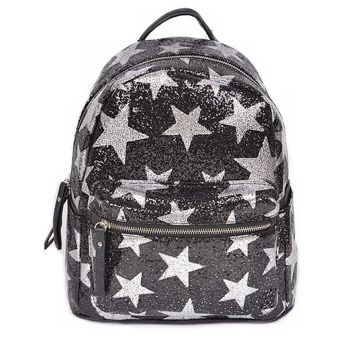 Glitter Star Fashion Backpack