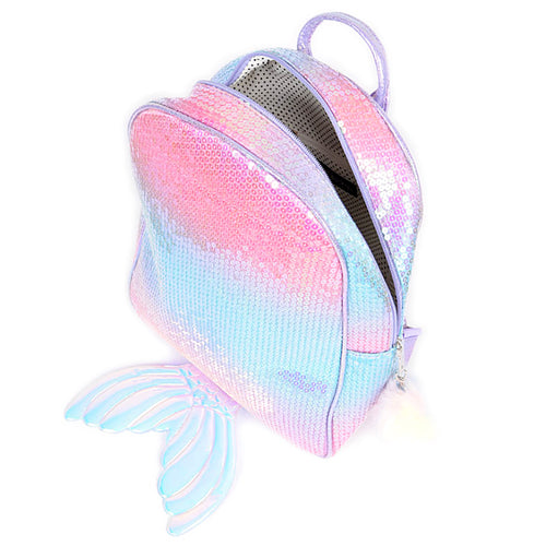 Sequins Mermaid Inspired Backpack