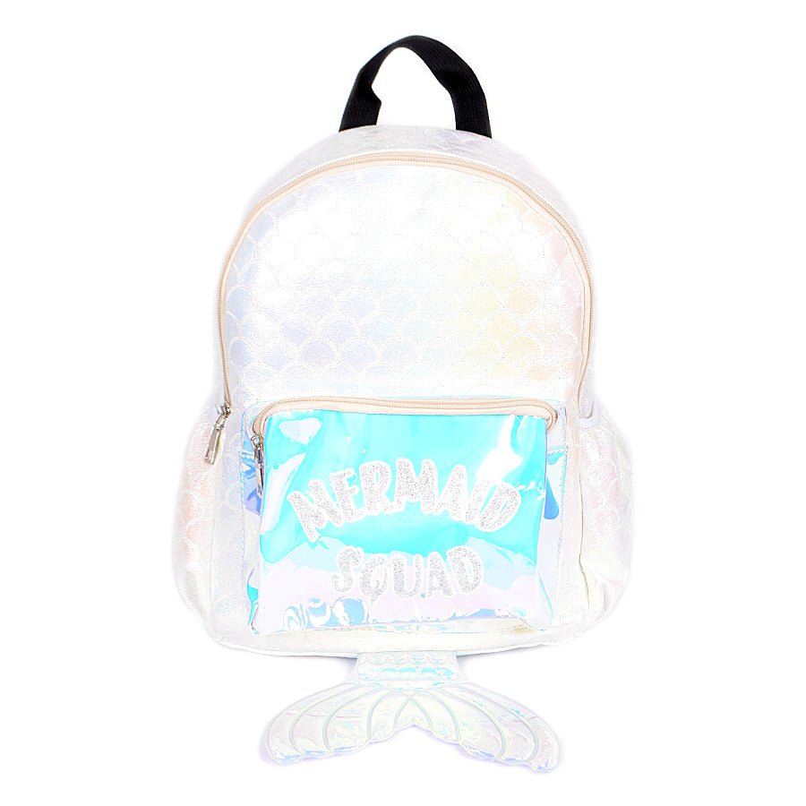 Holographic Mermaid Squad Backpack