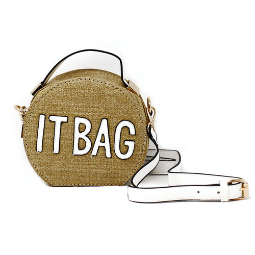 IT BAG Round Mini Bag With Strap