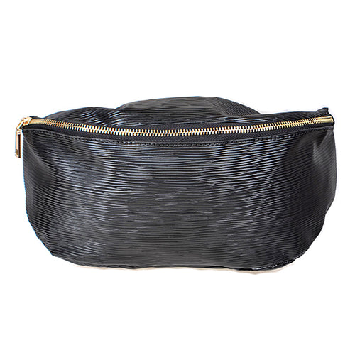 Textured Vegan Leather Fanny Pack
