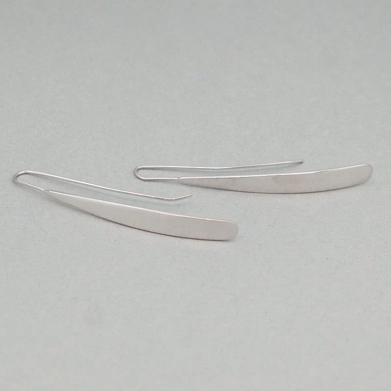 925 Sterling Silver Bar Earrings