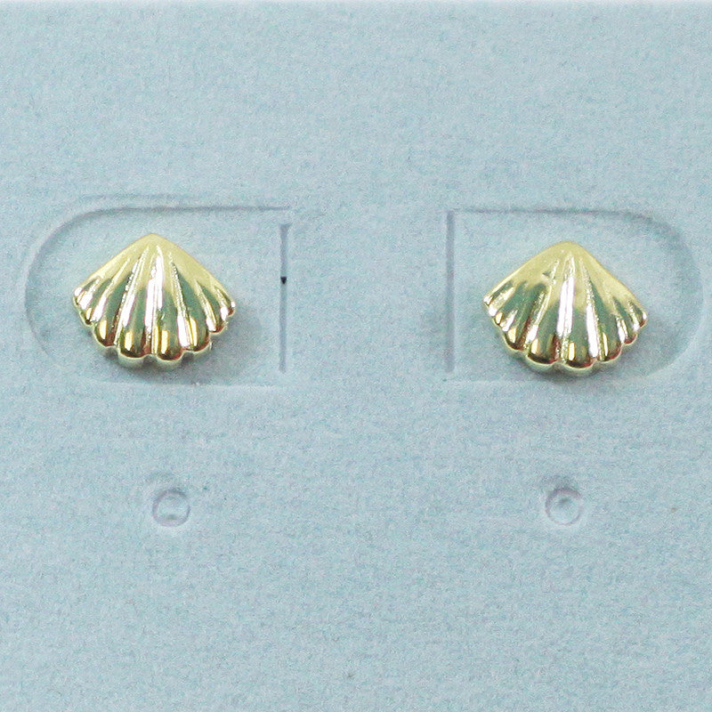 925 Sterling Silver Shell Studs Earrings