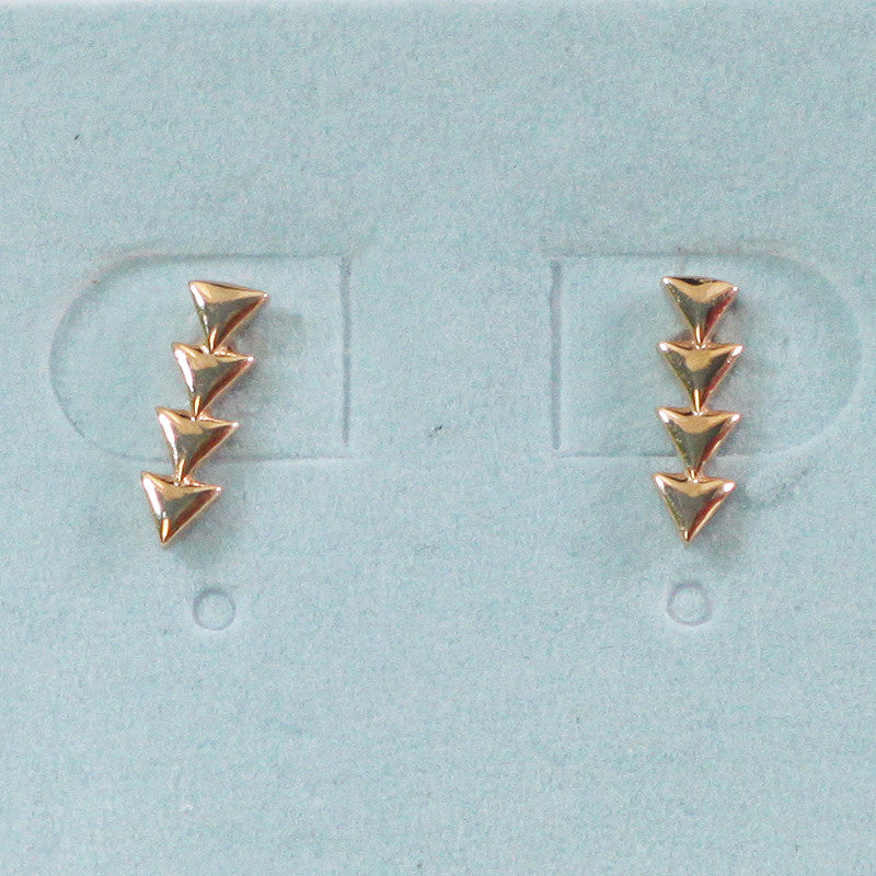 925 Sterling Silver Arrow Studs Earrings