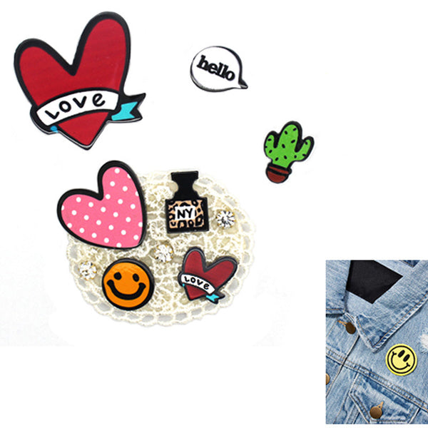 4PCS Patch Pin Set