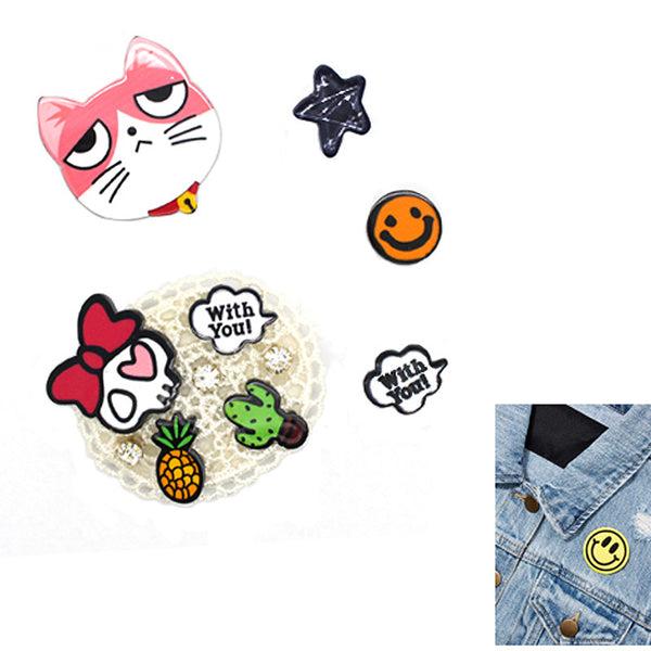 5PCS Patch Pin Set