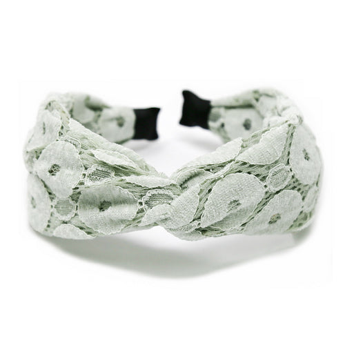 Flower Lace Front Twist Headband