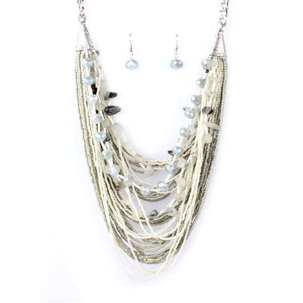 Multi Strands Bohemian Necklace