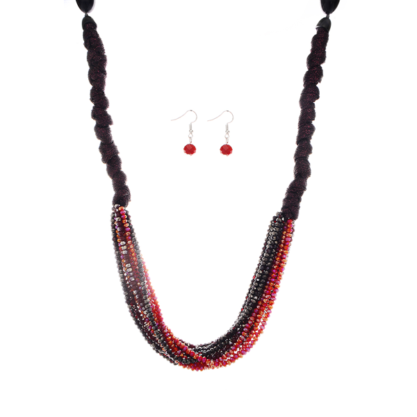Multi Layered Beads Bohemian Necklace