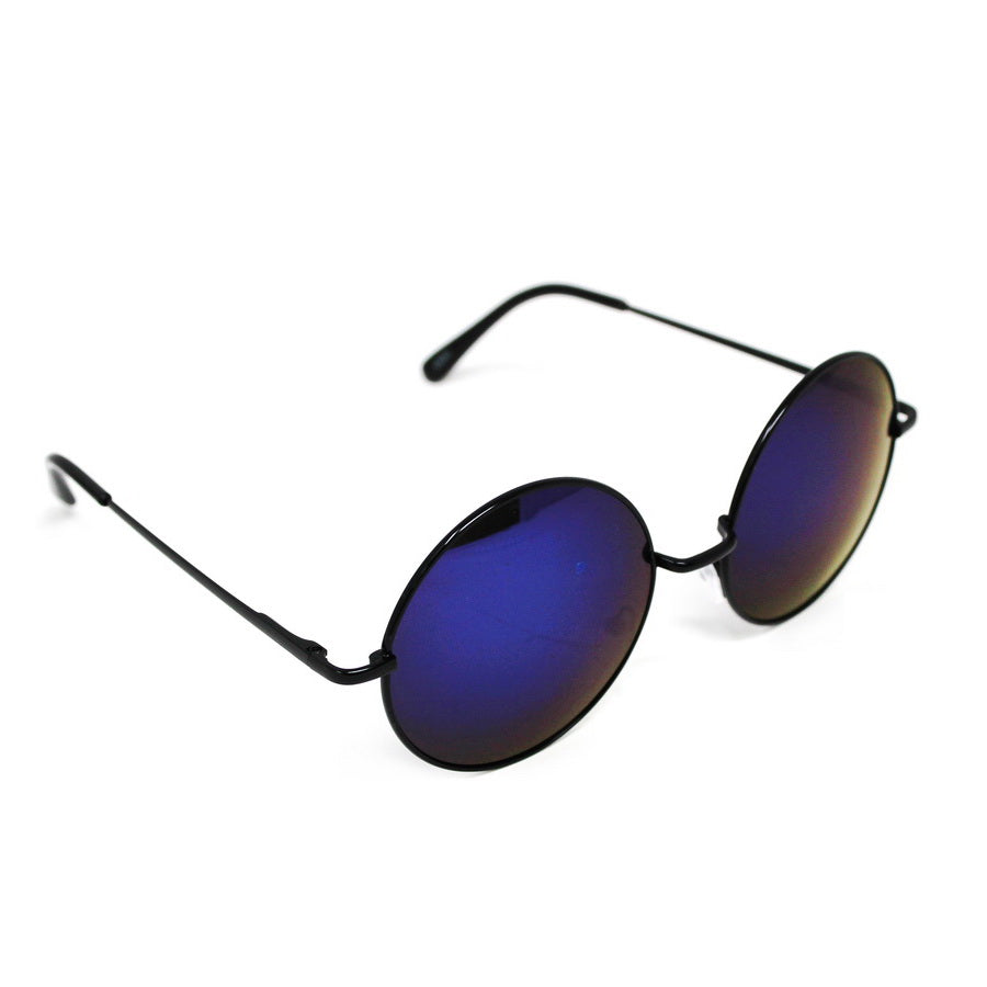 Mirrored Round Assorted Fashion Sunglasses (12 Pieces)