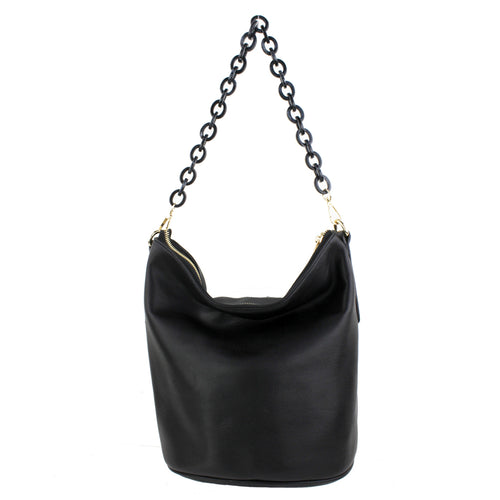 STREET LEVEL Acetate Linked Handle Tote Bag