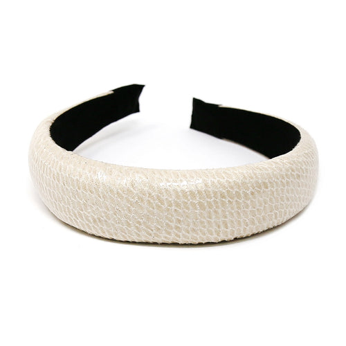 Animal Skin Faux Leather Headband
