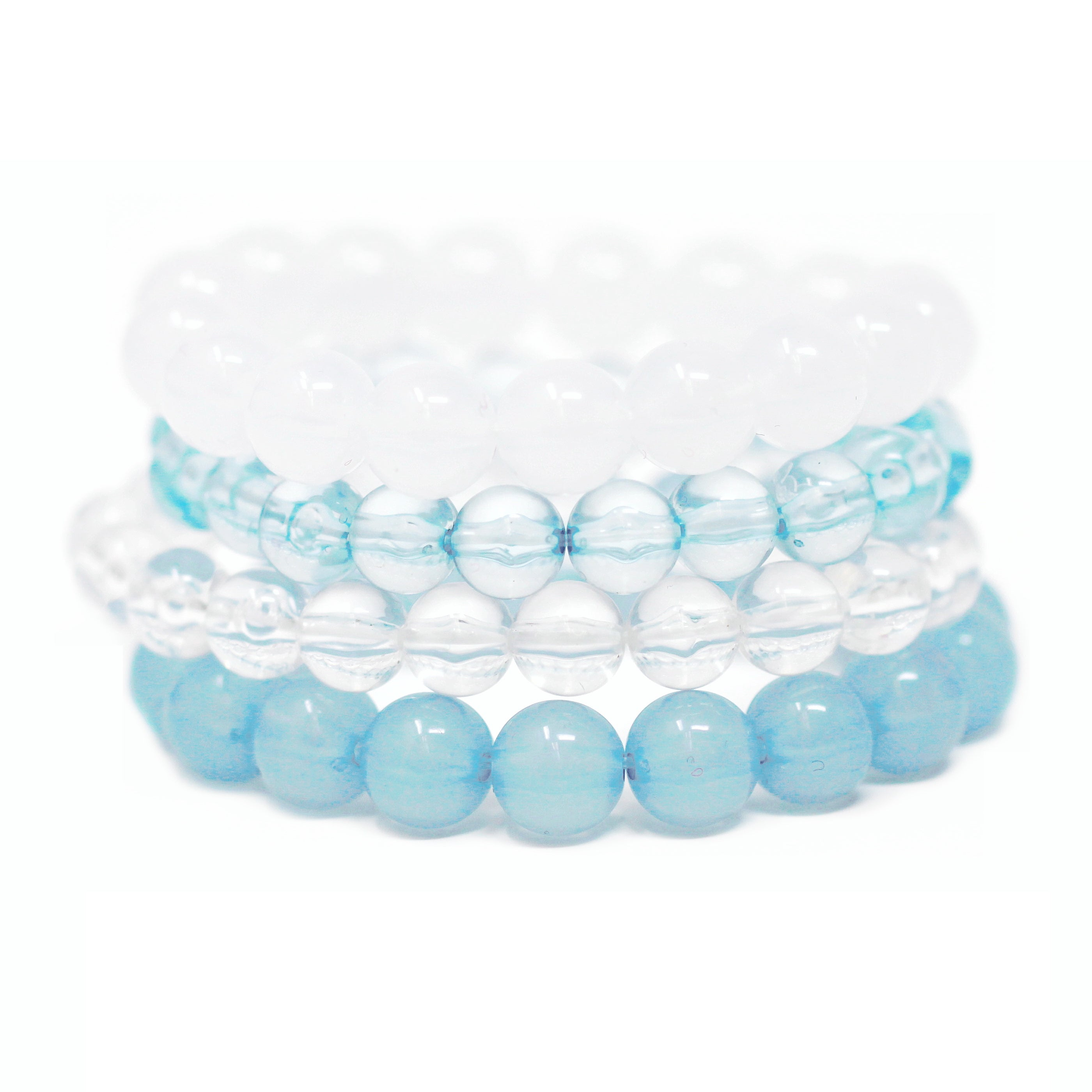 Bon Bon 4 Piece Stretch Bracelet Set