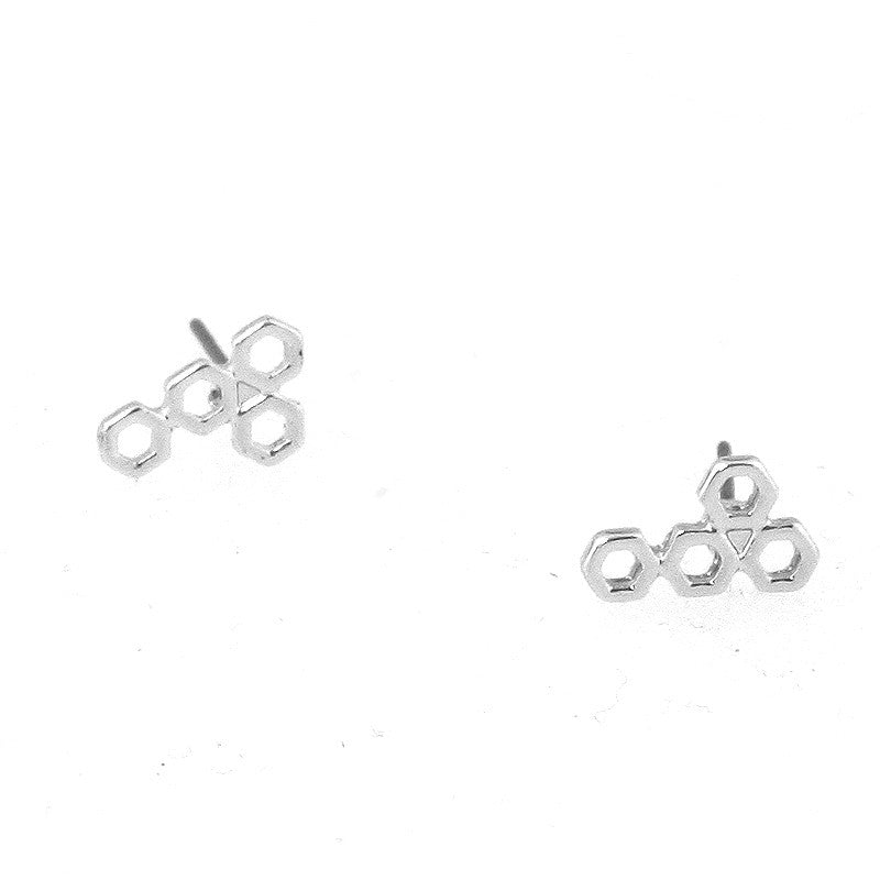 Beehive Studs Earrings