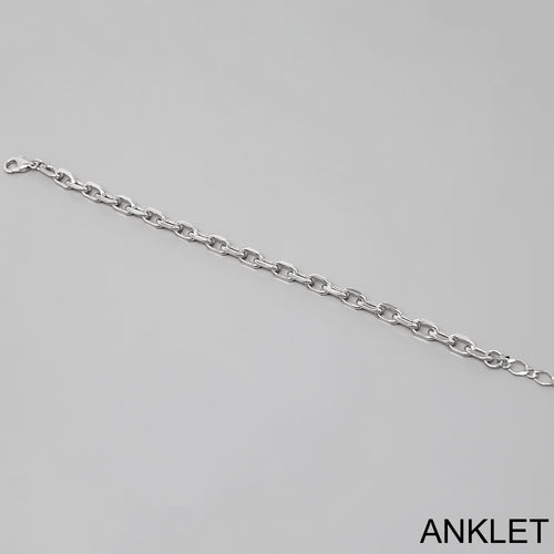 Metal Linked Chain Anklet
