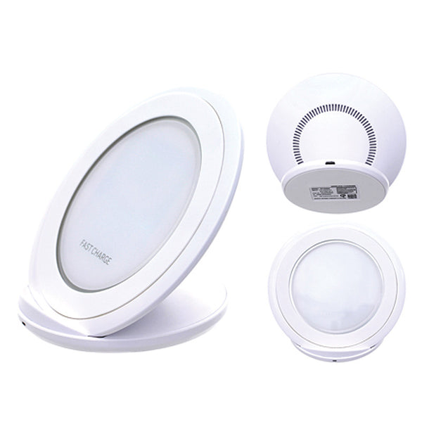 Wireless Stand Oval Pad Charger