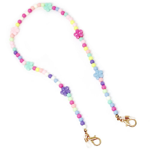 Multicolor Flower Beaded Mask / Sunglasses Chain