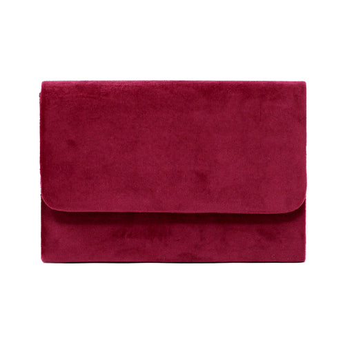 Simple Velvet Clutch Bag